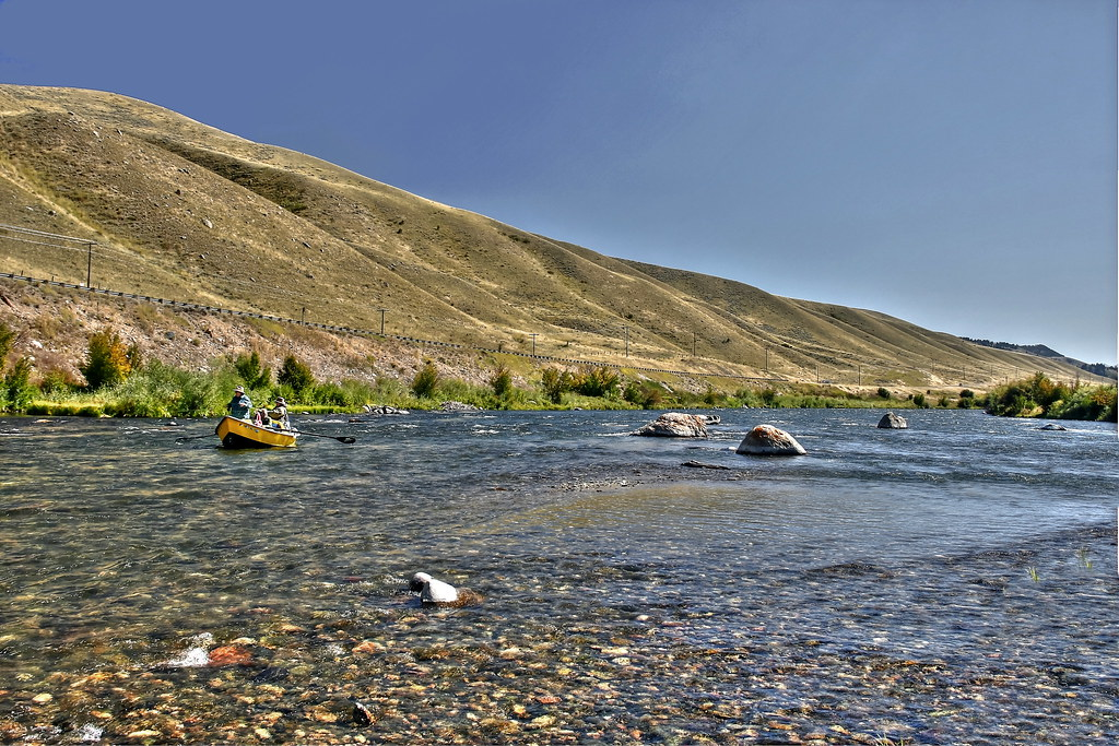 Fly Fishing In Yellowstone National Park 09 01 2014 10