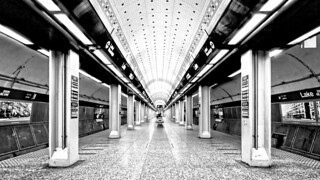 Red Line Subway Station