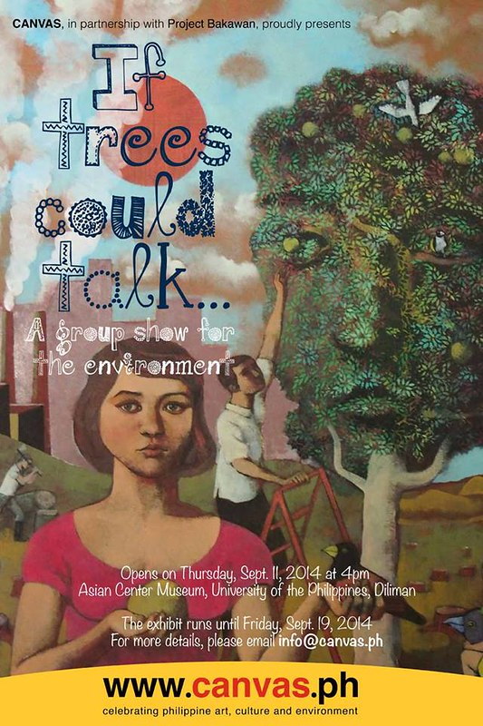 if trees could talk poster