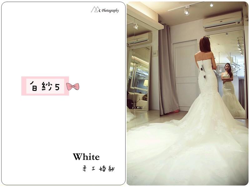 WHITE  白紗5-2