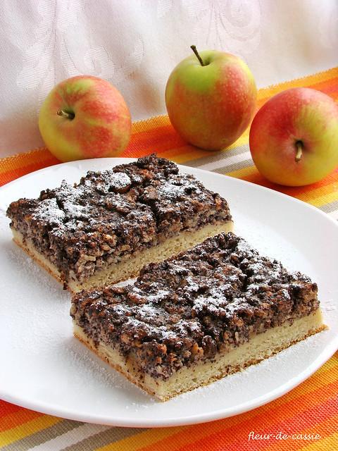маково-яблочный пирог 1