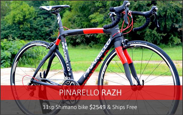 New 2015 11sp Pinarello $2549