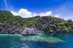 Karst limestone formations of Coron, Palawan of Coron, Palawan