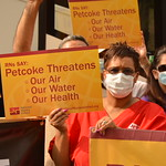 RNs join Great Climate March Rally in Chicago & Fight Against  Dangerous Pet Coke Piles