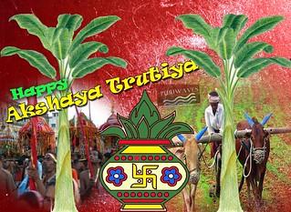 Akshay Tritiya Greetings Wallpaper download