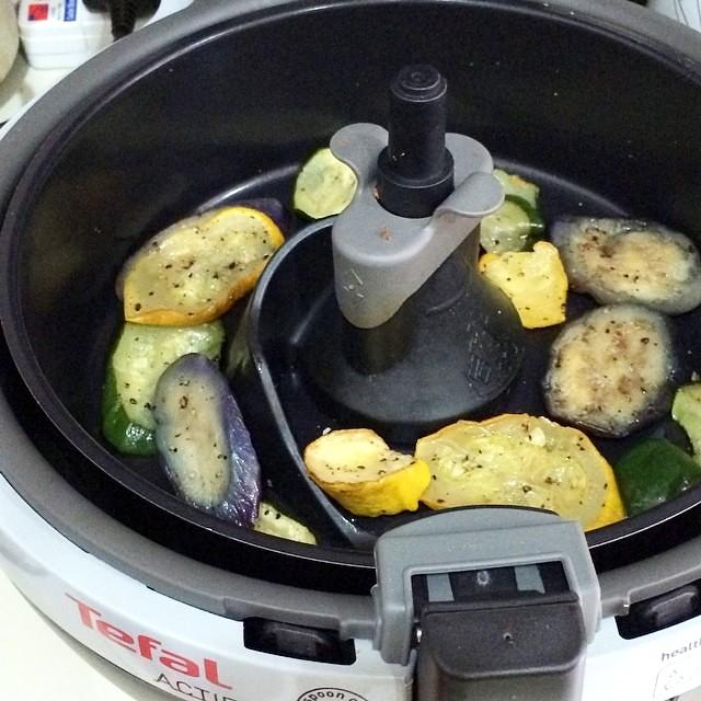 tefal actifry_grilled veg