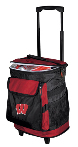 Wisconsin Badgers Rolling Cooler