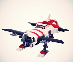 old style porco rosso inspired plane 1