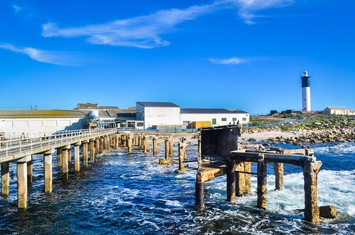 Doringbaai's jetty, South Africa