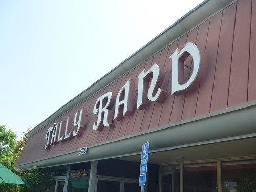 TallyRand Sign Restaurant Burbank CA Keith Valcourt