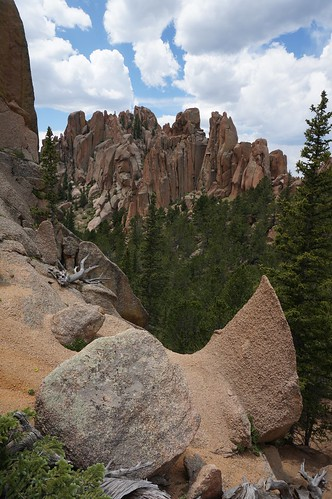 colorado granite crags sharkfin thecrags pikespeakgranite cragstrail gettinghigh2014 cragstrail664
