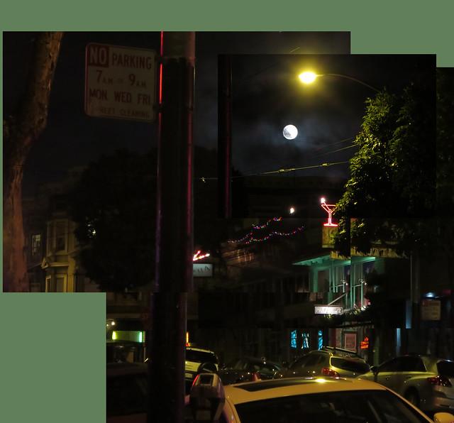 Haight Street, San Francisco at night (2014)