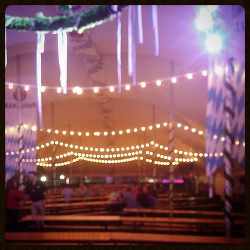 Winding down Oktoberfest Zinzinnati's Uberdrome...