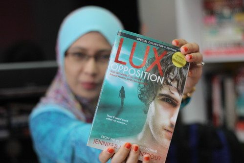 Lux Opposition by Jennifer L. Armentrout