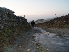 `Icy Conditions on the way up Pen-y-Ghent Image