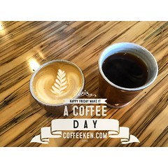 Happy Friday! #coffeeken #javajourney2016 #vzco_of_our_world #food #coffeelover #coffeesesh #coffeeculture