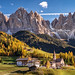Autumn in the Dolomite Alps by Achim Thomae Photography