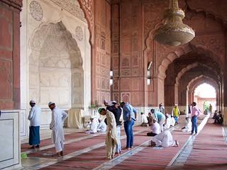 Image of Jama Masjid.