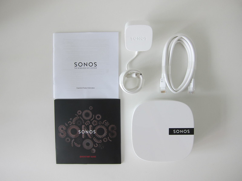Sonos BOOST - Box Contents