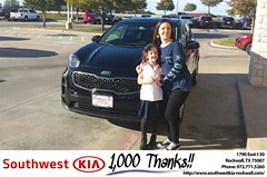 #HappyBirthday to Ellen from Chris Johnson at Southwest KIA Rockwall!