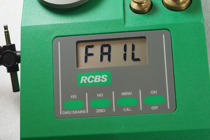 RD14599 RCBS PACT Electronic Digital Precision Powder Dispenser & Scale RD14598 DSC06359