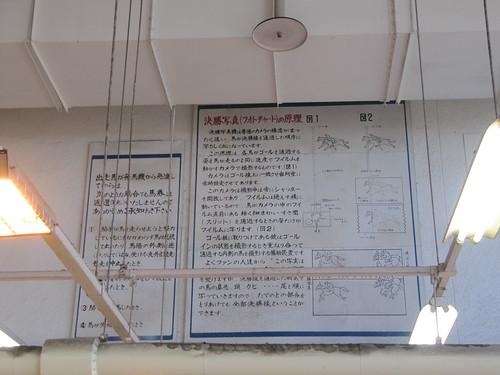 金沢競馬場の決勝写真の原理看板