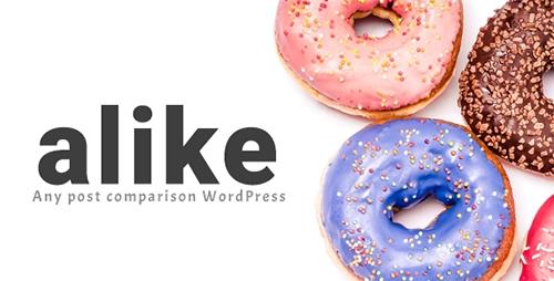 Alike v1.0.1 – Any post comparison WordPress