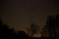 lever de la constellation d'Orion - Photo of Saint-Germain-du-Bel-Air