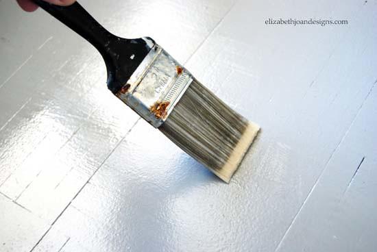 Painted Parquet Floors 5