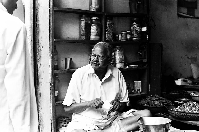 Delhi on B&W acros 100 pushed 3 stops and TMax400-7