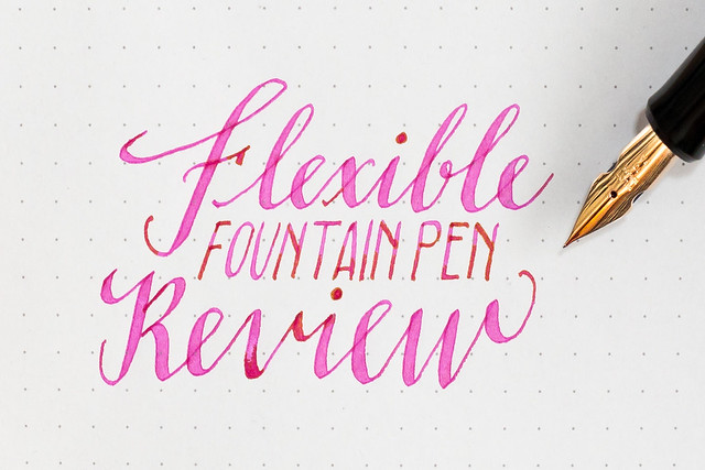 Fountain Pen for Calligraphy