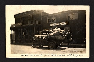 Thompson's Store, Load of Wool for Kaladar 1924