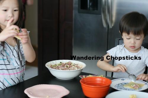 Hoanh Thanh Thit Heo Bam, Dau Hu, Hanh La (Vietnamese Wontons with Ground Pork, Tofu, and Green Onions) 9