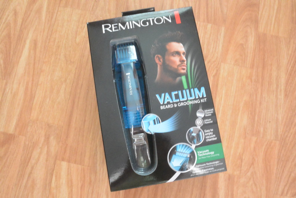 remington vacuum beard grooming kit. Black Bedroom Furniture Sets. Home Design Ideas