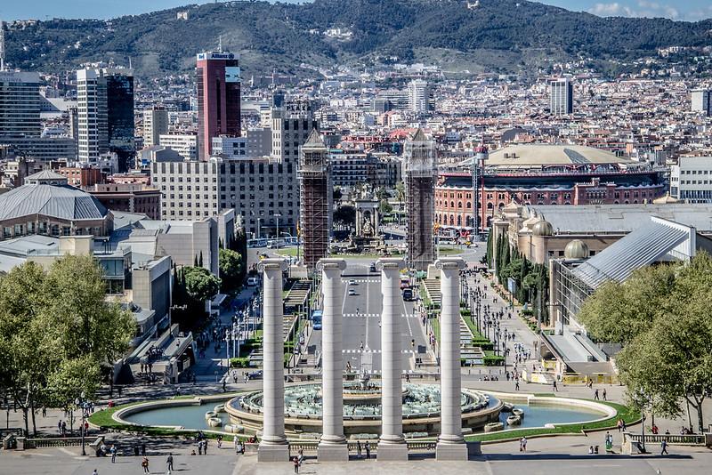 Barcellona e i suoi colori GIORNO 3