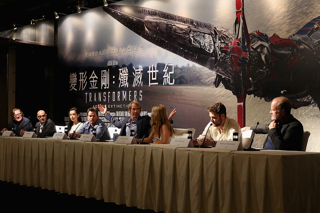 Transformers 4 Hong Kong Press Conference
