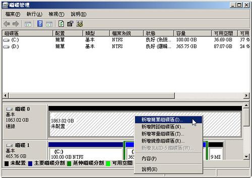 新硬碟初始化_Step04
