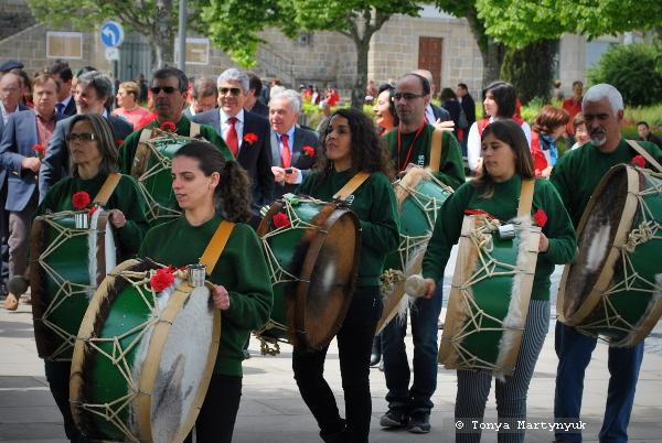 9 - 25 апреля - день революции в Каштелу Бранку - Португалия