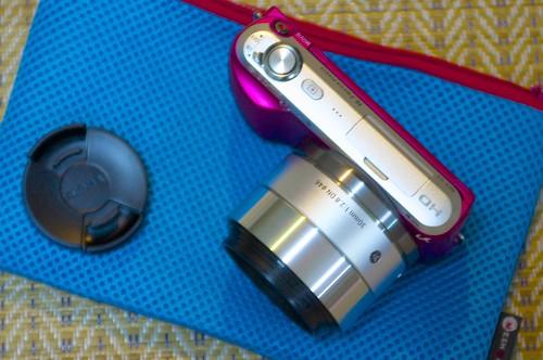 Sony NEX-C3 with Sigma 30mm f2.8 EX DN 2