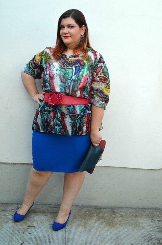 Outfit rosso e blu (6)