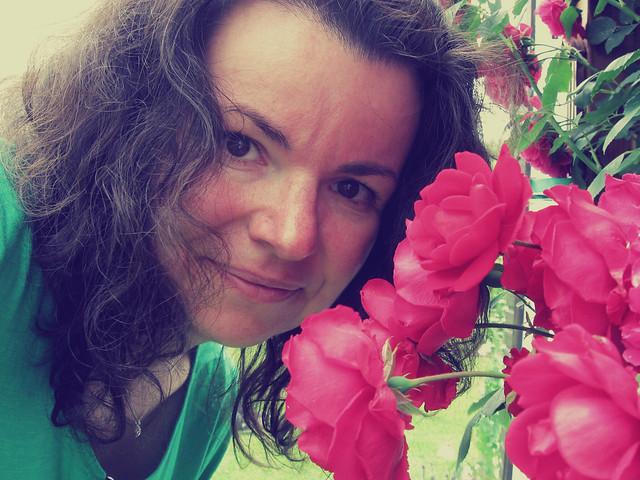 Les roses et moi