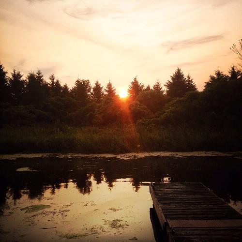 sky sun canada sunrise cornwall iphone grayscreek iphoneography hipstamatic