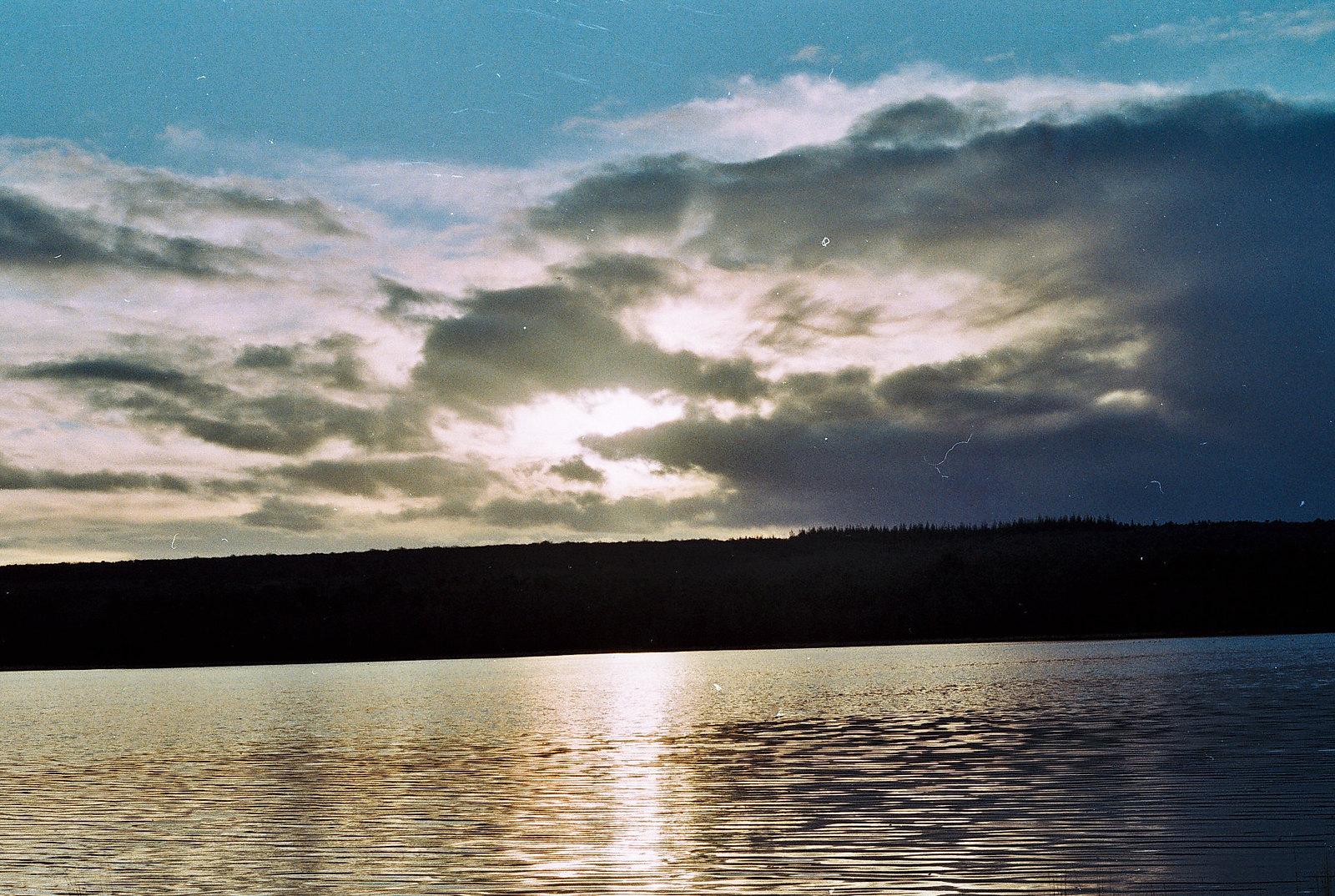 Brittany Lake sunset