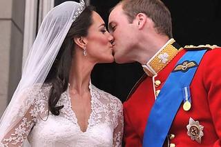 Royal Wedding Kiss