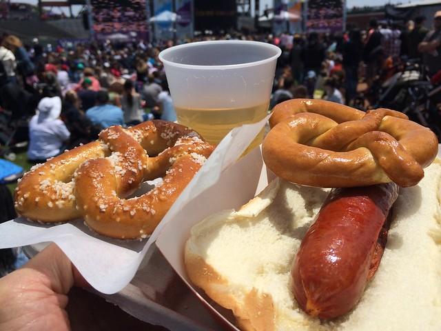AT&T ballpark food - Genentech Concert