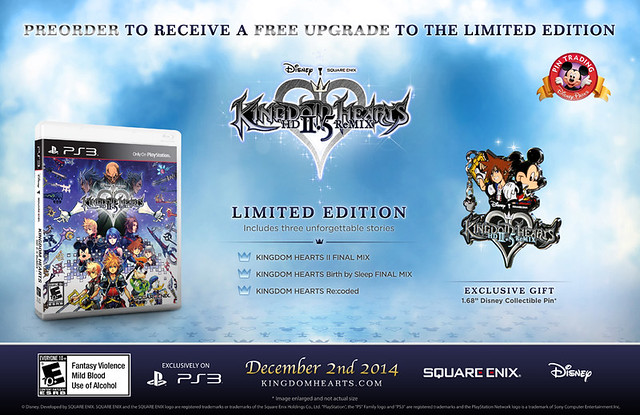 Kingdom Hearts 2.5 HD ReMIX Special Edition