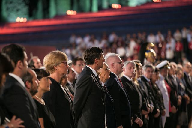 Concerto in onore dei Caduti di tutte le guerre al sacrario di Redipuglia