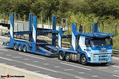 Volvo FM 6x2 Car Transporter - W20 ECM - ECM - M1 J10 Luton - Steven Gray - IMG_7169