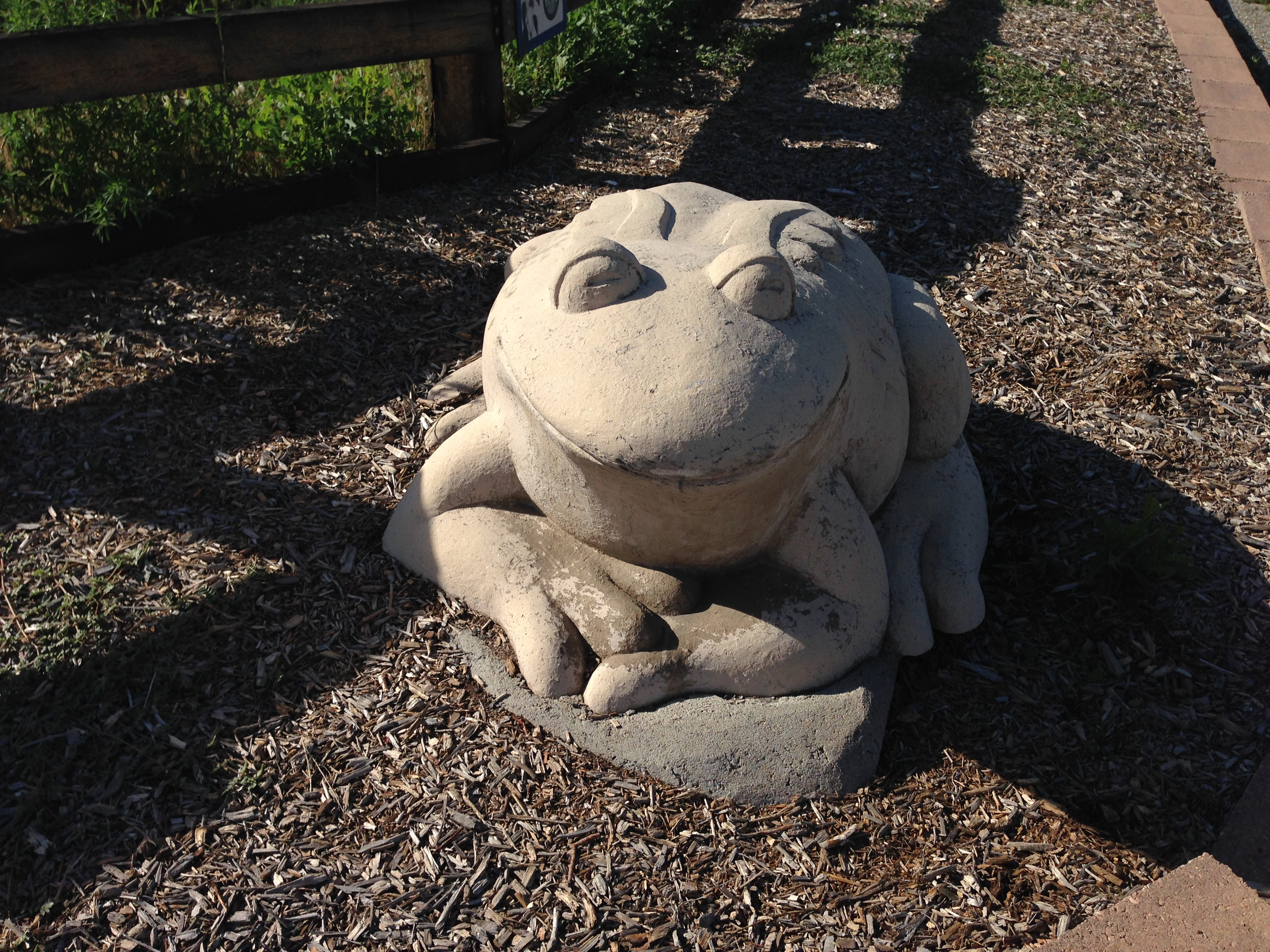 From Statue at Grandview Ponds in Thornton, CO