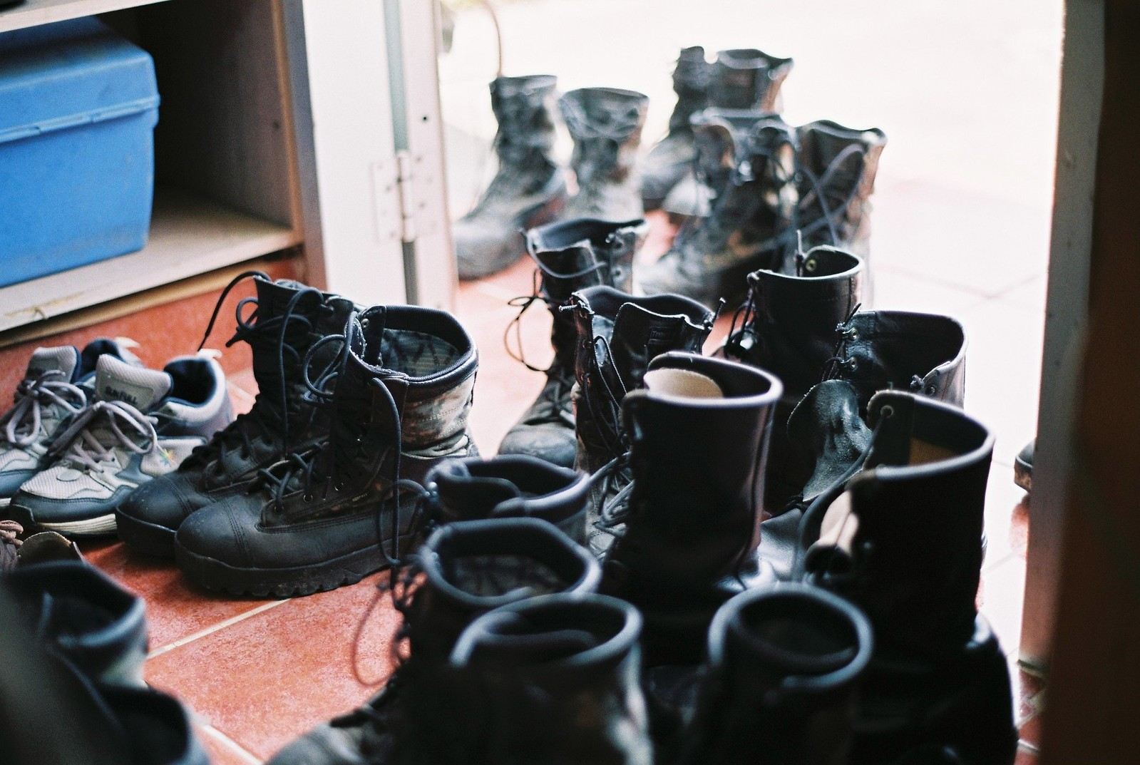 Scattered Boots